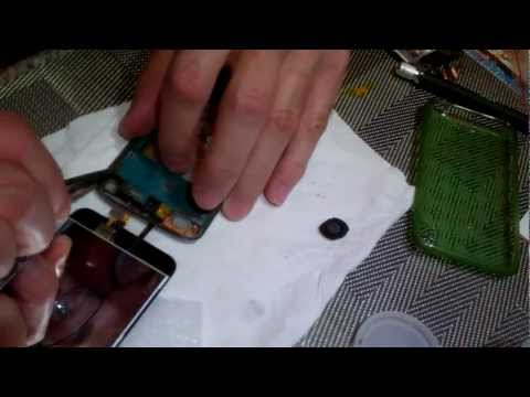 iPod Touch 4g Glass Removal and Installation Partial Video