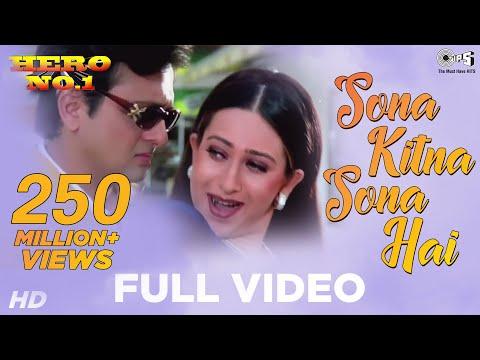 Xxx Mp4 Sona Kitna Sona Hai Song Video Hero No 1 Govinda Amp Karisma Kapoor Udit N Amp Poornima 3gp Sex