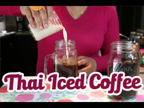 Thai ICED Coffee Made By  A Latina (How To)