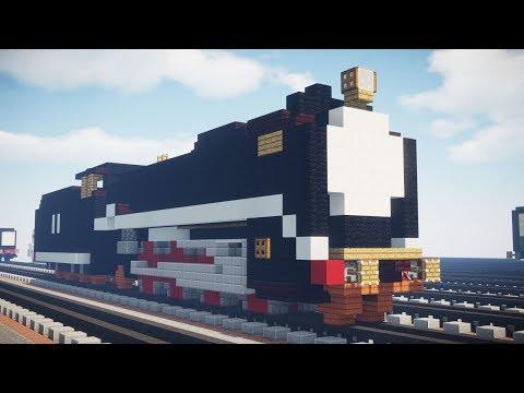 Minecraft Thomas & Friends Hiro Hero D51 Part 2 Tutorial