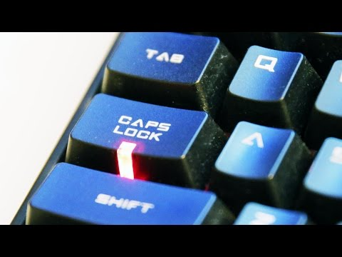 Remap the Dreaded Caps Lock Key without Software | BeatTheBush