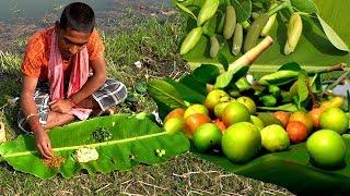 Kul And Kathaler Muchi Makha Yummy & Tasty Bengali Village Food Recipes