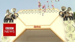 India guru rape: Inside huge temple complex- BBC News