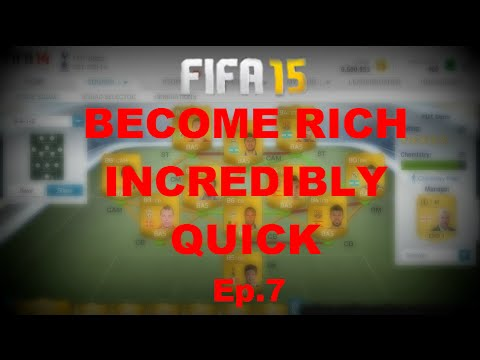 FIFA 15 | Trading to a Million | BECOME RICH INCREDBLY QUICK | Ep.7