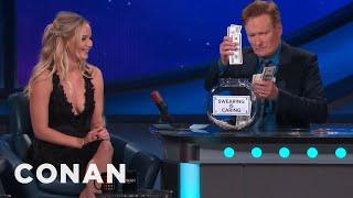 Jennifer Lawrence's Potty Mouth  - CONAN on TBS
