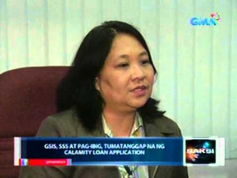 Saksi: GSIS, SSS at Pag-Ibig, tumatanggap na ng calamity loan application