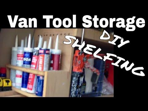 Van Mobile Tool Storage 2