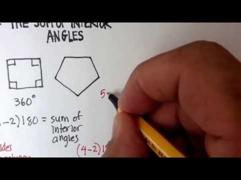 Polygons: The Sum of Interior Angles