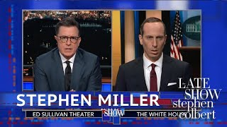 Stephen Miller Takes A Victory Lap On Family Separation