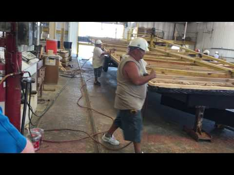 Setting Floors On The Frame In Manufactured Home