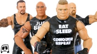Brock Lesnar, The Rock, Undertaker, & Stone Cold Steve Austin WWE Tough Talkers Unboxing & Review!!