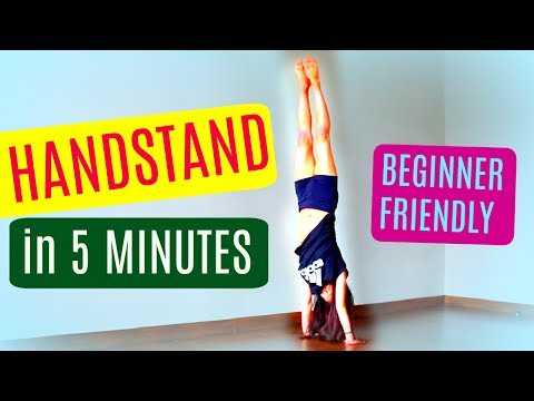 How to HANDSTAND in 5 MINUTES!