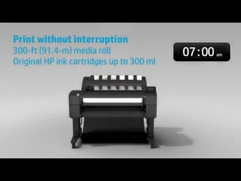 HP T930 Super Productive A1 Plotter for