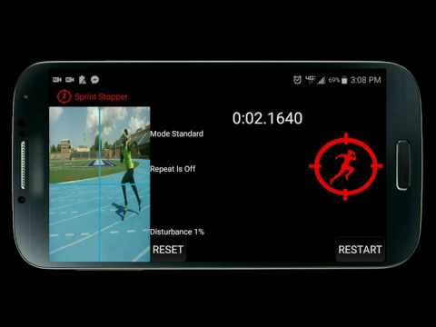 Sprint Stopper : Fully Automatic Timing System App
