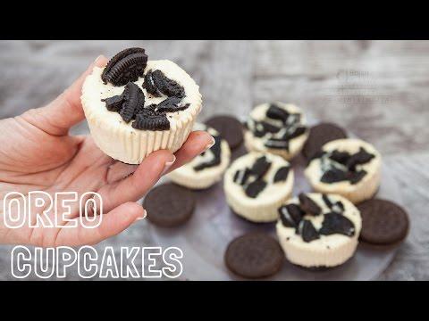 Oreo Cupcakes Recipe  | Beba`s Homemade Recipes