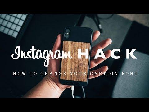 Instagram Caption Hack