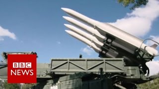 How does a BUK missile system work? - BBC News