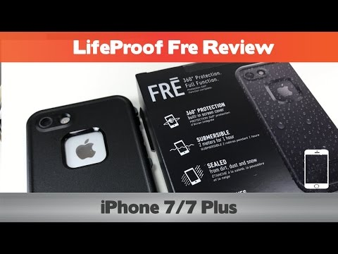 More of the same? Or better than ever? LifeProof Fre Review - Waterproof iPhone 7 Cases