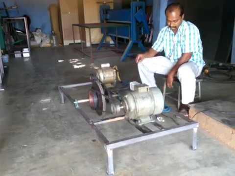 Free energy flywheel generator 1