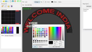 Pixel Led Arch Gate Design Software In Progress