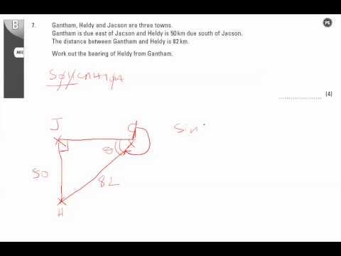 End of Unit Test - U20 Pythagoras Q7