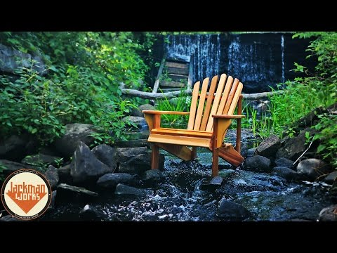 Living in an Adirondack Chair down by the river