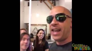 Vin Diesel Plays Dungeons and Dragons