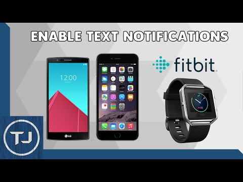How To Enable Text Notifications On FitBit Blaze