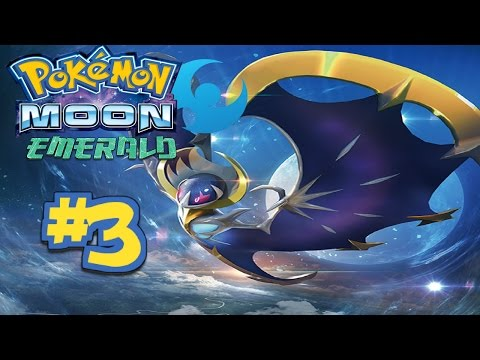 Pokemon Lets Play Moon Emerald Version Ep 3: Traveling through Petalburg Woods