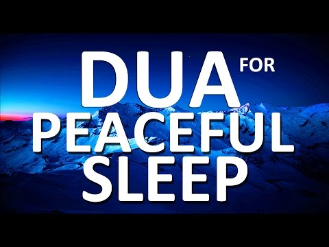 Listen to This Dua before you go to Bed Each Night ᴴᴰ | Can't Fall Asleep? Sleeping Problems?