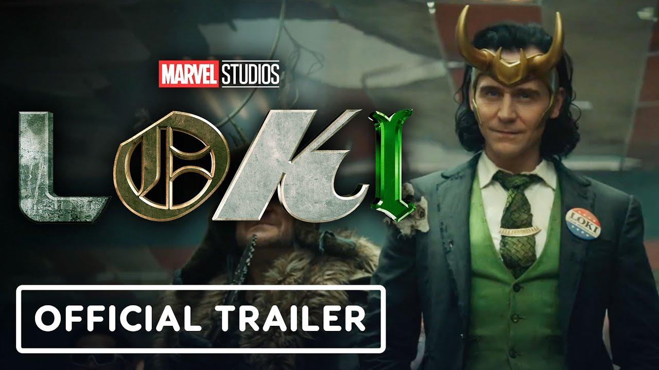 Marvel's Loki - Official Trailer (2021) Tom Hiddleston, Owen Wilson