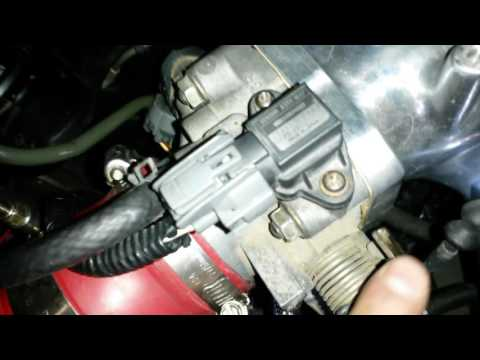 How to calibrate tps sensor of a Honda civic