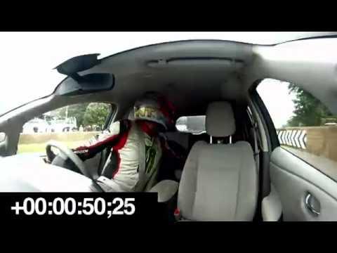Nissan LEAF - Recorde do mundo em marcha-atrás