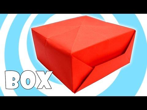 DIY: Printing Paper Origami Box Instructions