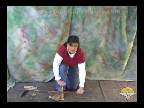 Bow Drill Fire Proper Form, Practical Primitive