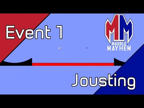 Jousting - Marble Mayhem Event 1 (Algodoo Marble Race)
