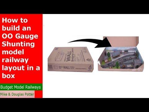 How to build an OO Gauge model railway layout in a box - OO Gauge Micro Layout