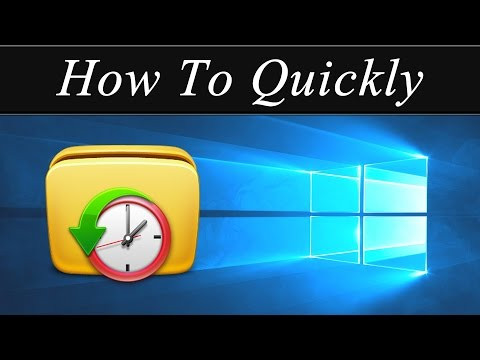 How To Quickly: Change A File's