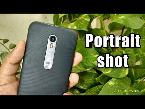 Portrait shots on single camera Smartphone ✓
