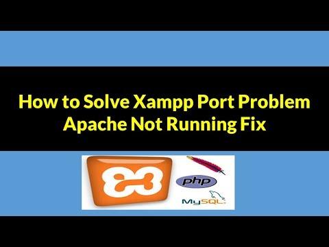 How to Fix Xampp Apache Error - Xampp Apache Shutdown Unexpectedly