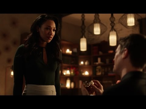 Barry Proposes to Iris- The Flash S03E14