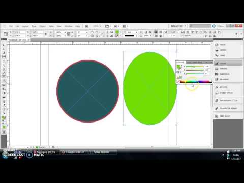 InDesign Tutorial: How to create circles, ovals in InDesign