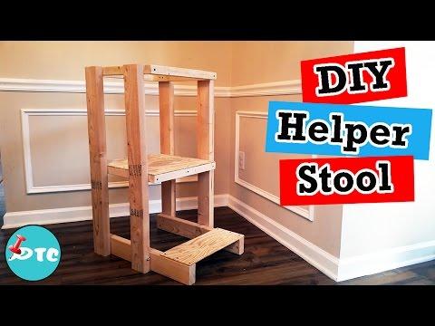 DIY Toddler Helper Stool