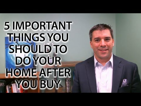 North Shore Real Estate Agent: 5 important things you should do to your home after you buy