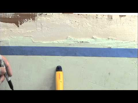 Finding Studs in Lath and Plaster Walls with Zircon MetalliScanner m40 Metal Detector