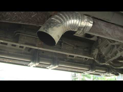 Straight Piped 7.3 Diesel Ford Excursion Powerstroke LOUD!!!