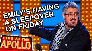 Phill Jupitus' Daughter's Boyfriend is his Nemesis | Live at the Apollo | BBC Comedy Greats