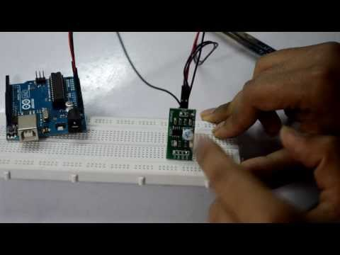 Soil Moisture Sensor with Arduino- Interface and Coding