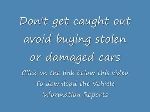 Vehicle History Reports, Avoid scams and Lemons