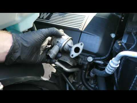 BMW M54 Secondary Air Valve Removal and Cleaning P0411